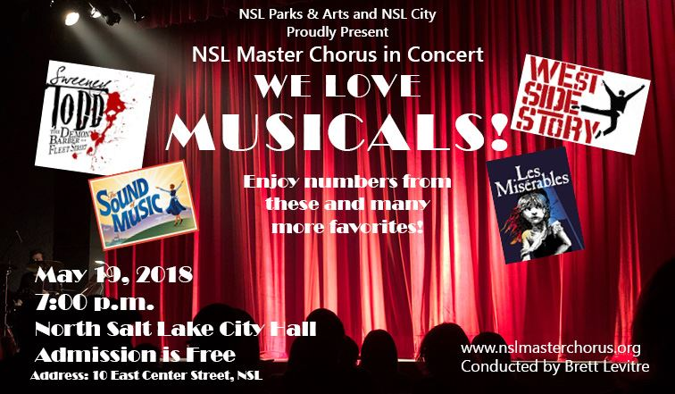 NSL Master Chorus Concer Flyer 2018 We Love Musicals wide