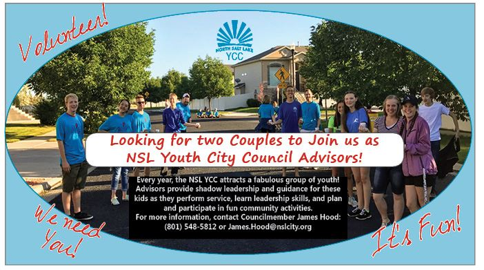 YCC Advisors Needed 2018
