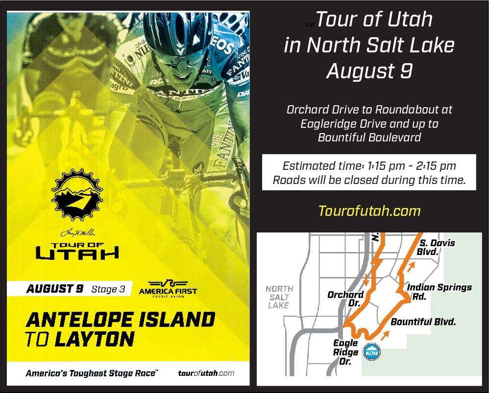 Tour of Utah 2018 NSL map clip w poster