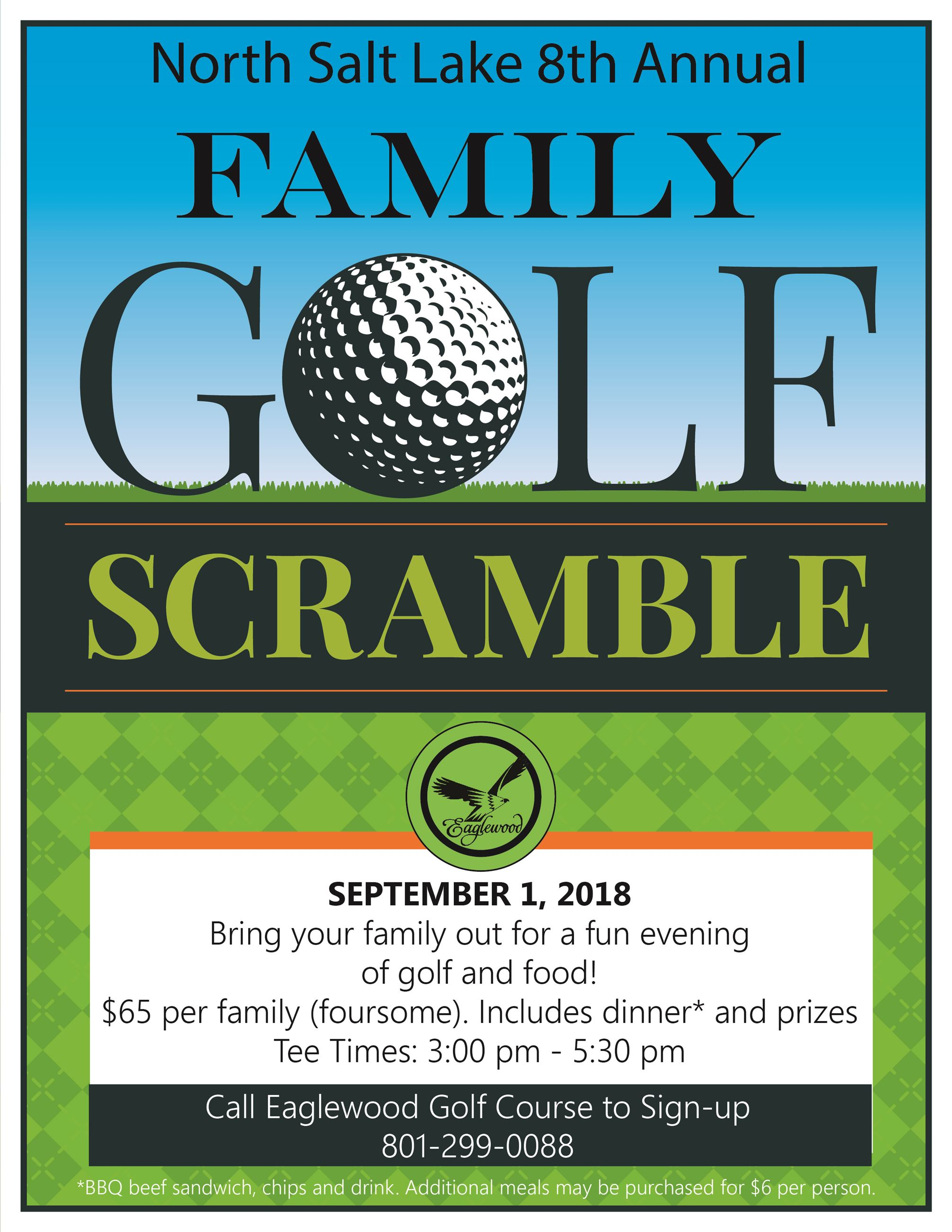 Family Golf Scramble flyer 2018 ldh 2-01