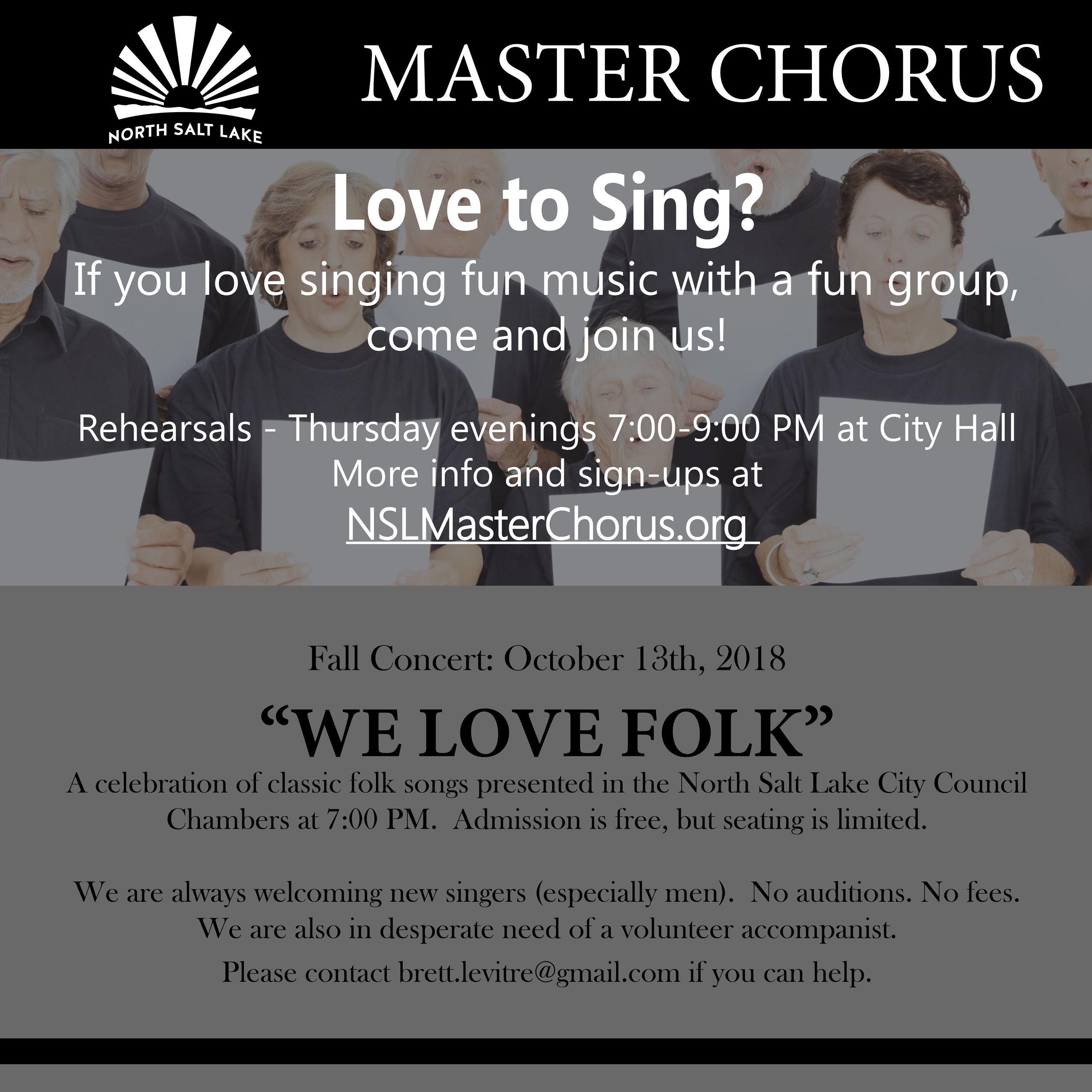 NSL Master Concert 2018 We Love Folk