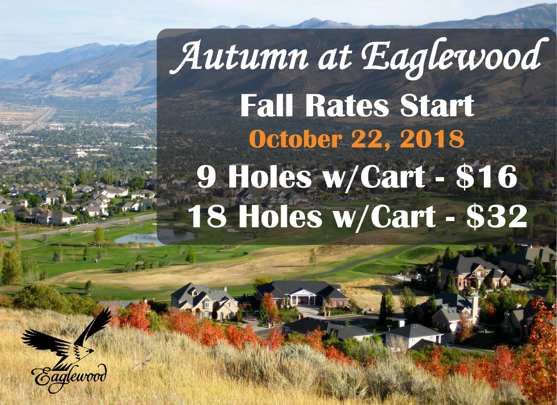 2018 Fall Rates Eaglewood GC and homes in NSL autumn pic