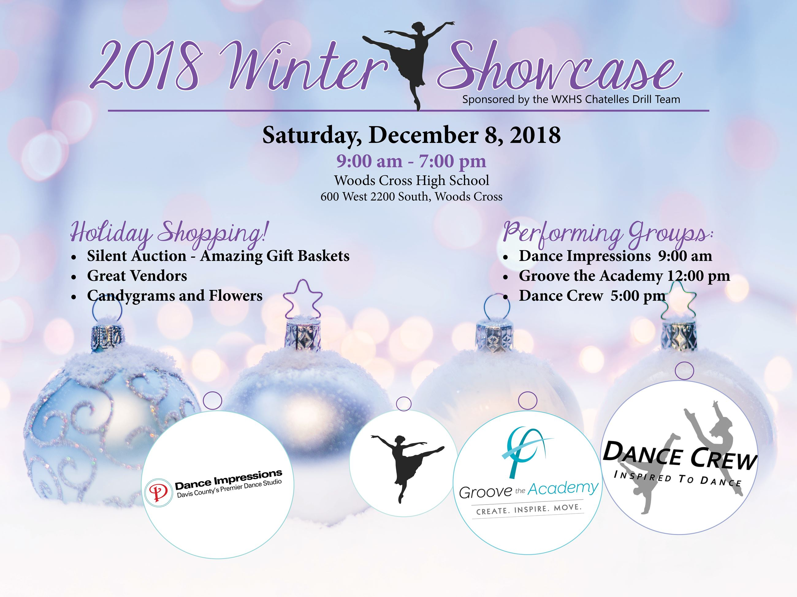 Winter Showcase 2018 flyer