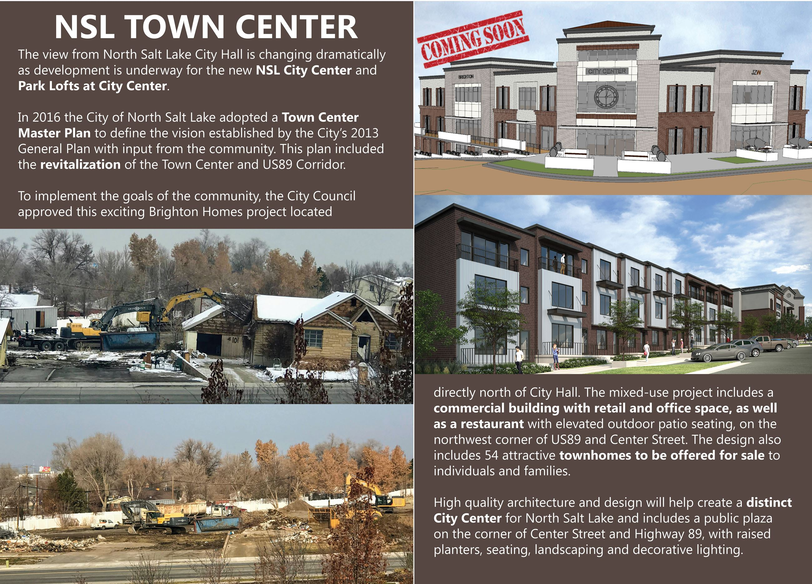 Town Center Coming Soon