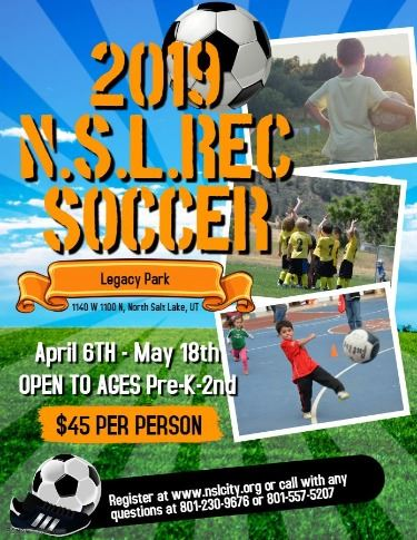 2019 Soccer Camp Flyer - Made with PosterMyWall