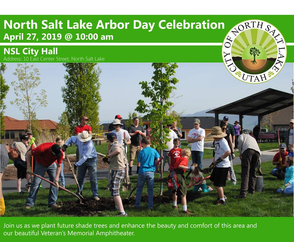 Arbor Day 2019 City Hall Flyer