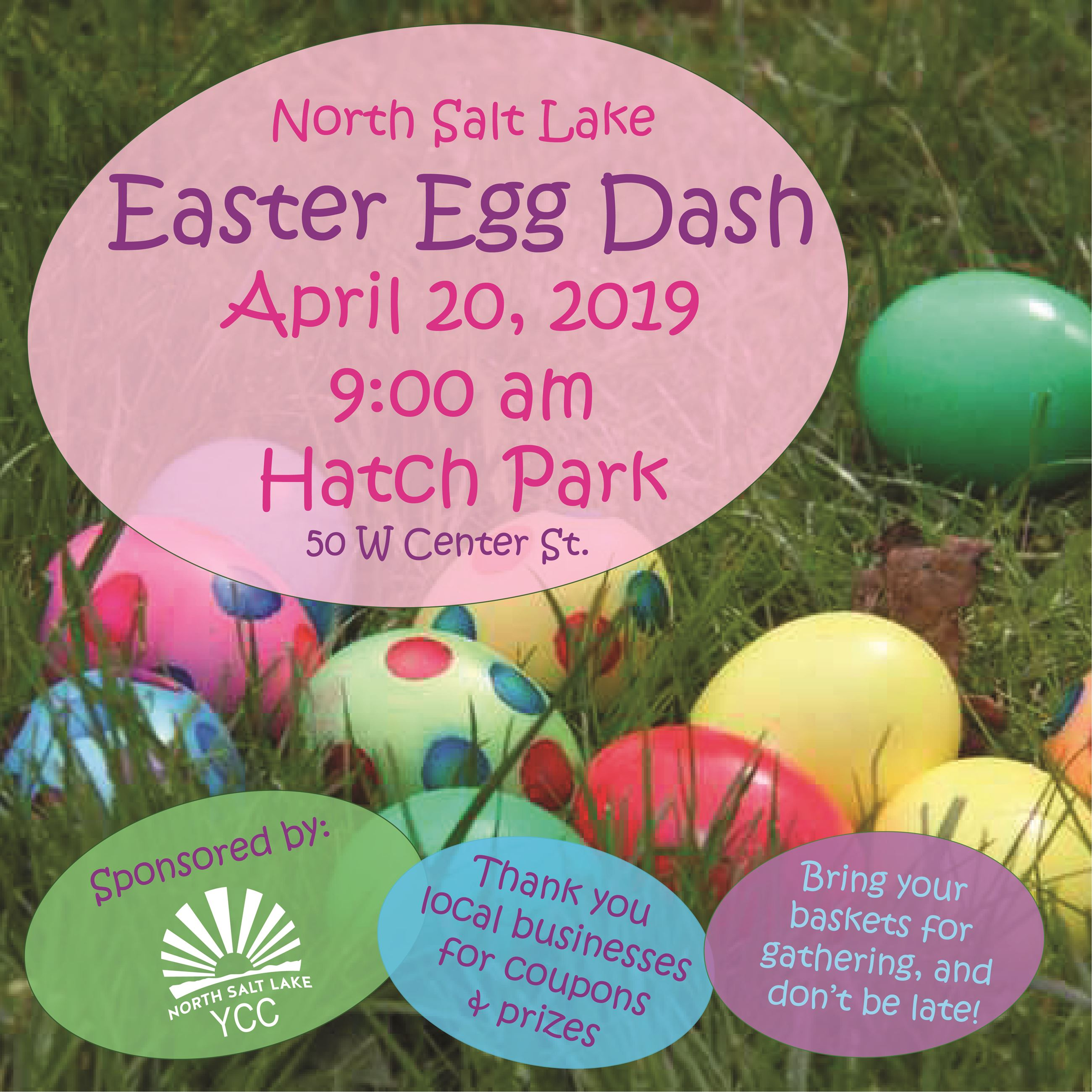 Easter Egg Dash 2019 Social Media Post