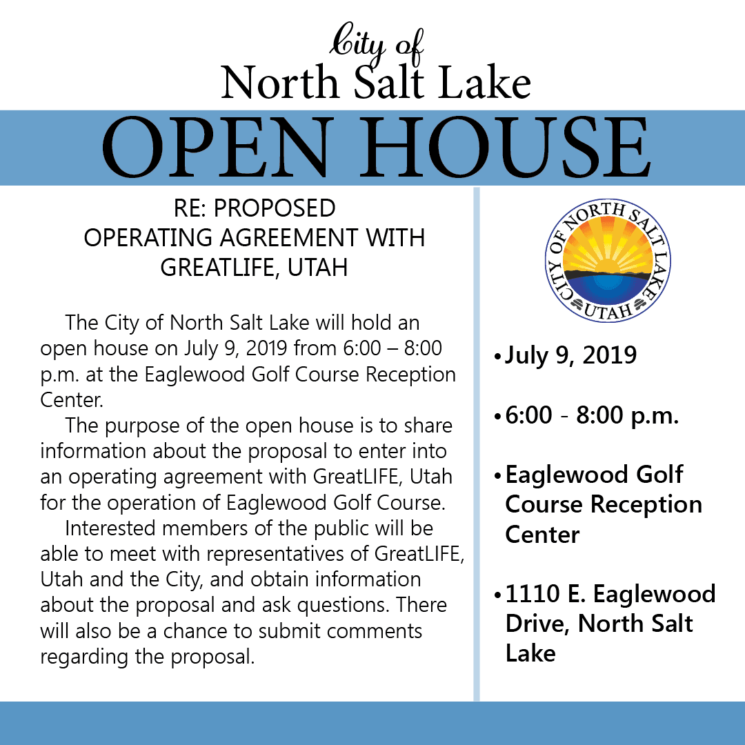 Open House GreatLife at Eaglewood 7-9-19 Flyer