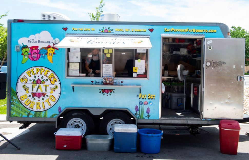 Sgt Peppers fat burrito food truck