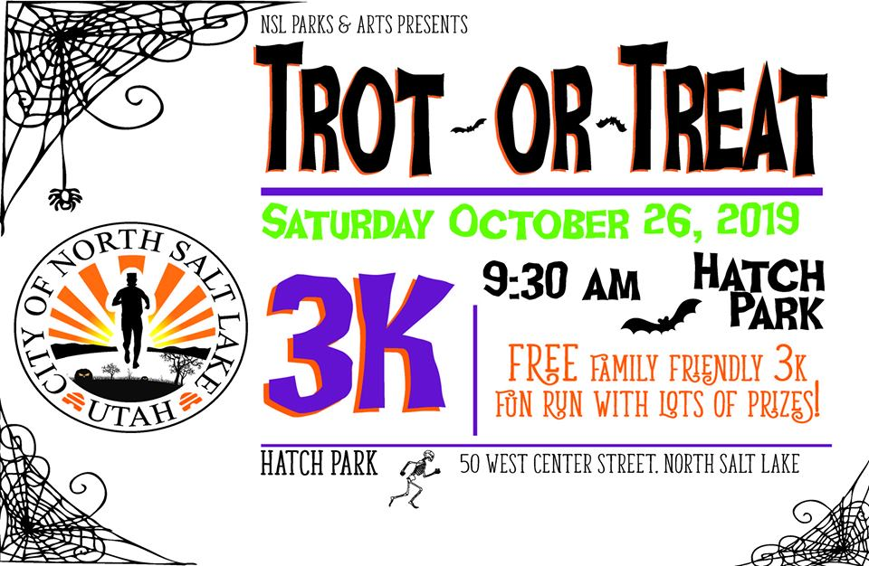 Trot or treat flyer 2019
