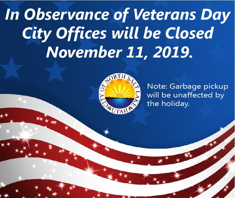 Veterans Day 2019 Office Closed-100