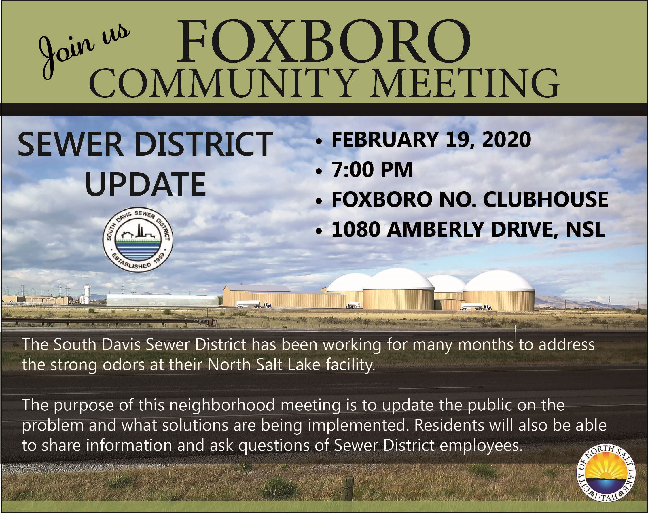 Foxboro Sewer District Neighborhood mtg 2-19-20