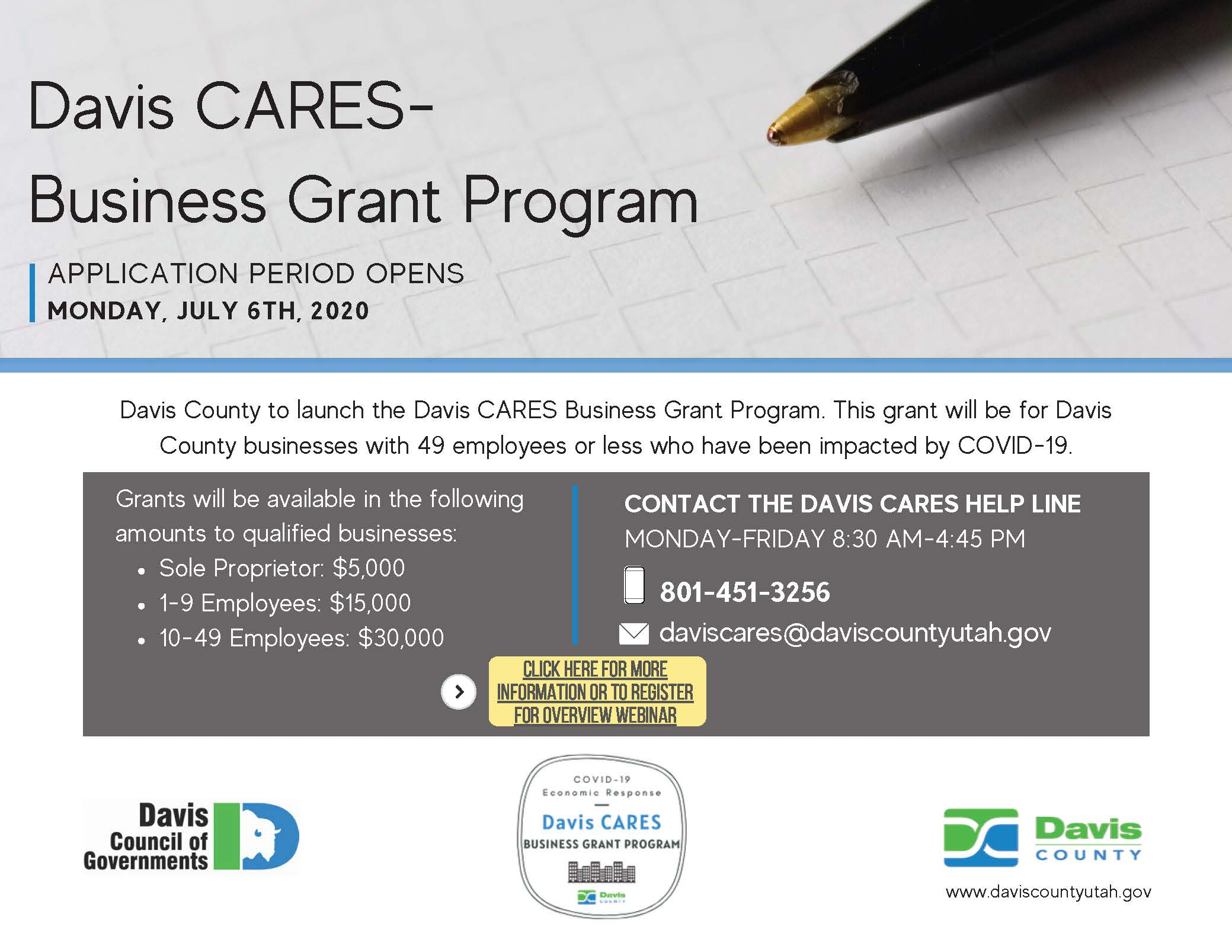 Davis CARES Program Announcement (002)