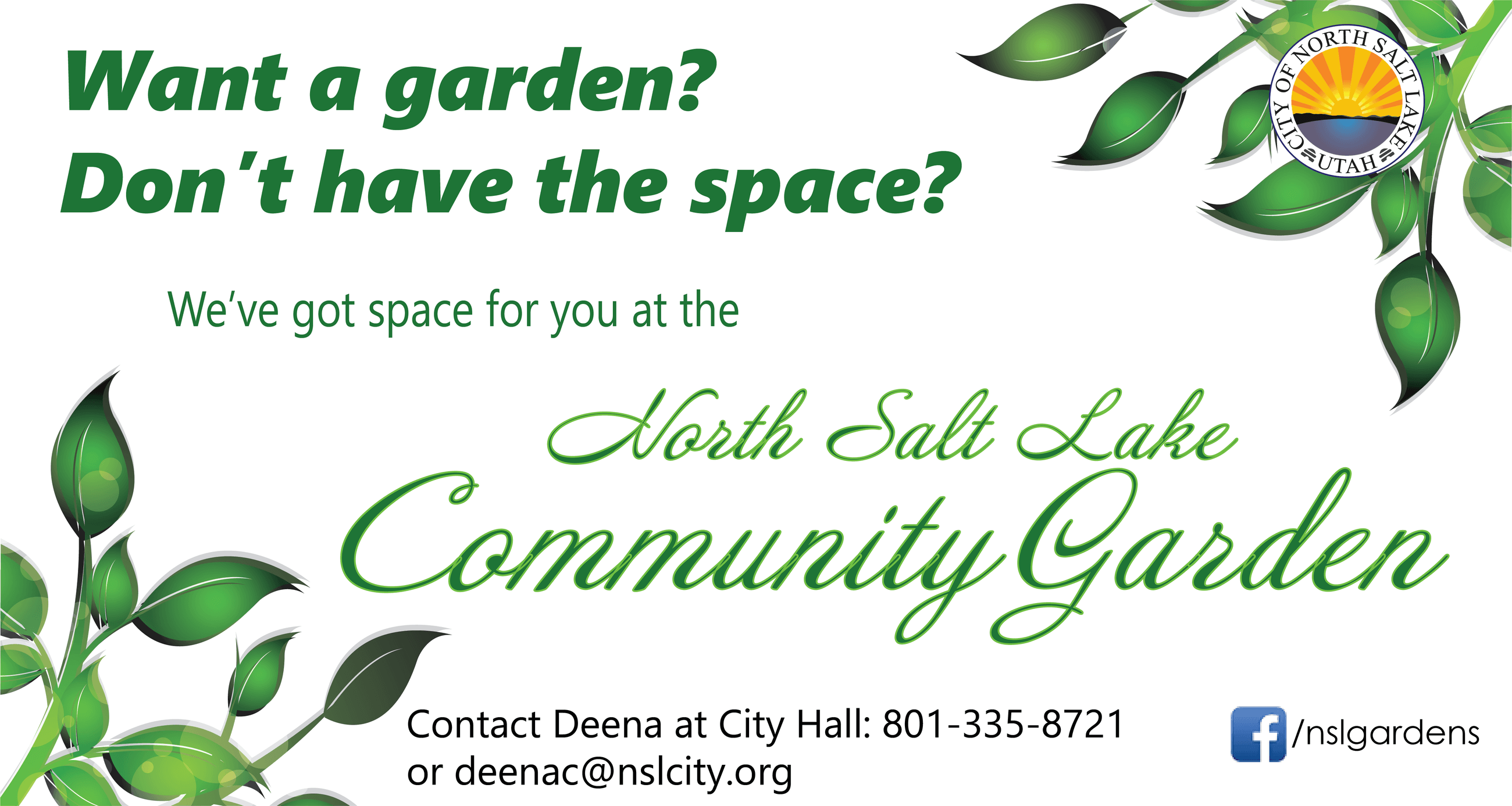 2021 Community Garden plots available 4.3 newsletter