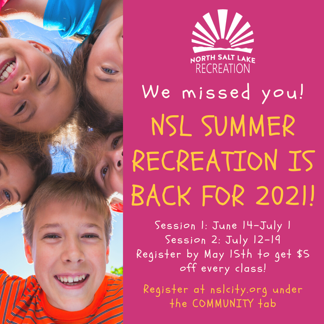 2021 Summer rec we missed you- nsl recreation is back!