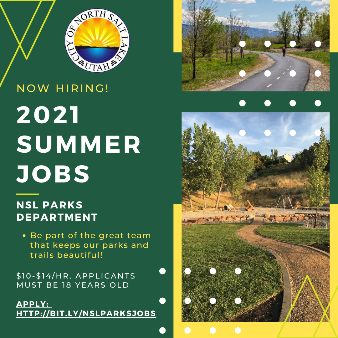 Parks jobs 2021 now hiring
