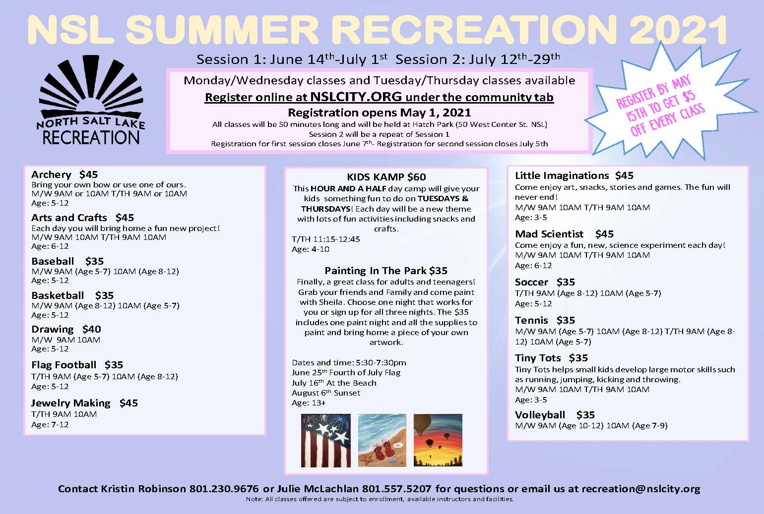 2021 recreation flyer revised 4-19-21