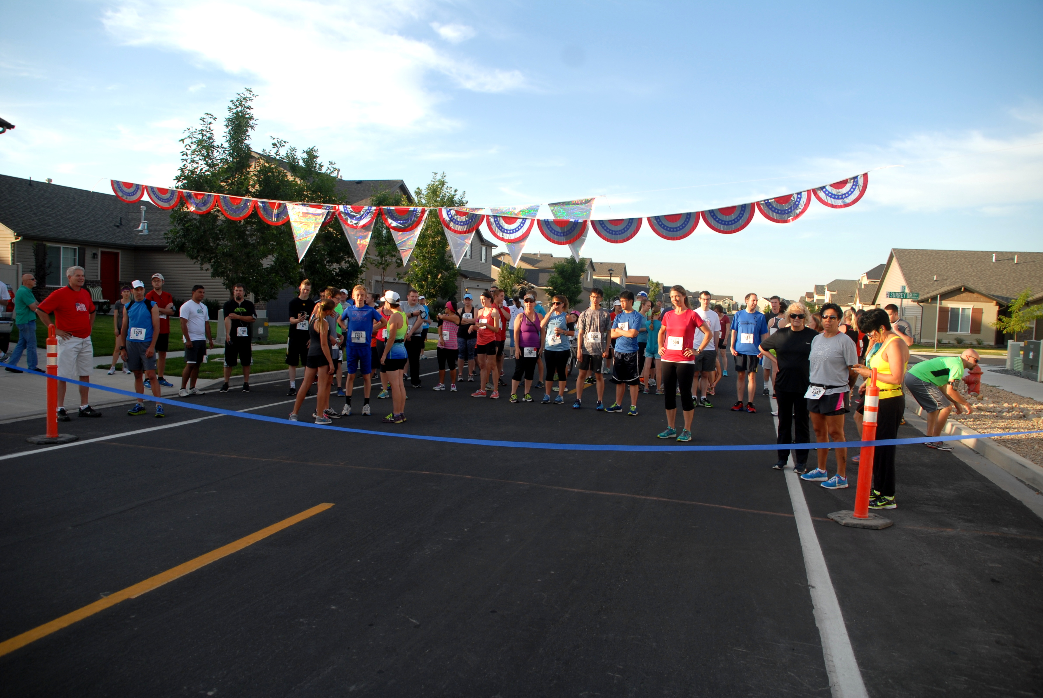 Gathering at the Starting Line